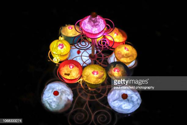 Illuminated fairy cakes