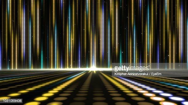 illuminated lights on dance floor - dance floor stock pictures, royalty-free photos & images