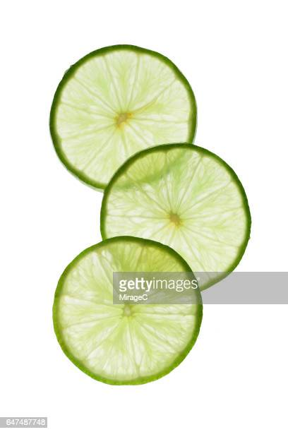 Illuminated Lime Slices