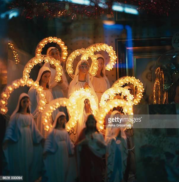 Illuminated Madonnas