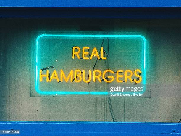 Illuminated Neon Sign