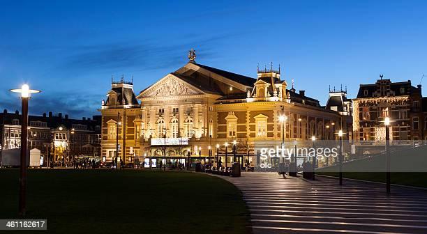 Illuminated Royal Concertgebouw Amsterdam