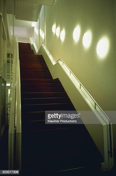 Illuminated staircase