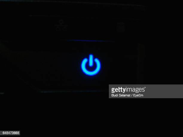 illuminated start button sign - push button stock pictures, royalty-free photos & images