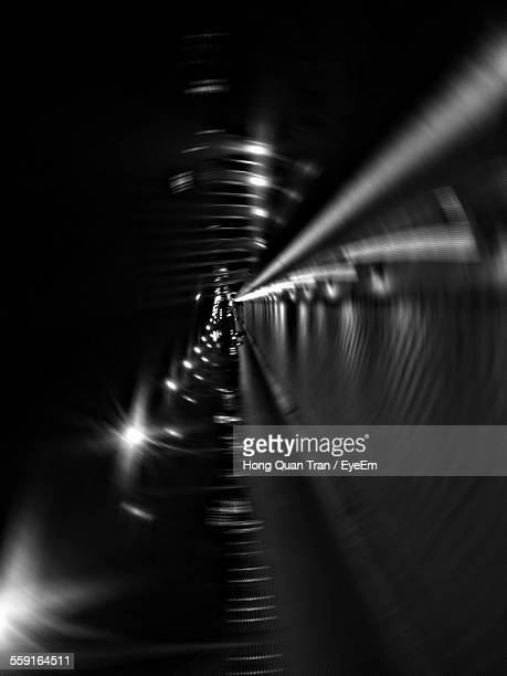 illuminated underground walkway - hong quan stock pictures, royalty-free photos & images