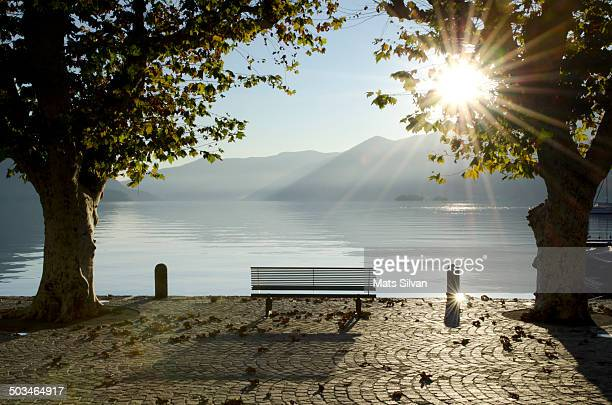 illuminating sunbeams - ticino canton stock pictures, royalty-free photos & images