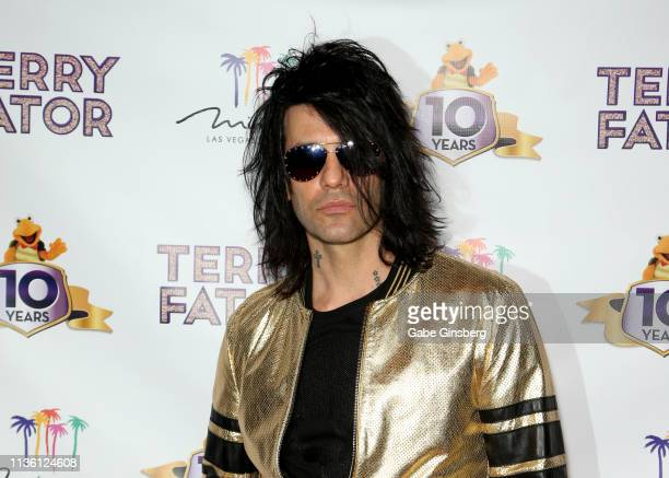 Illusionist Criss Angel attends Terry Fator's 10th anniversary show at The Mirage Hotel & Casino on March 15, 2019 in Las Vegas, Nevada.
