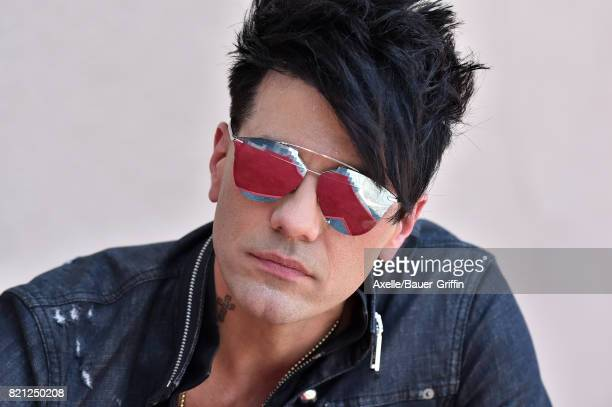 Illusionist Criss Angel is honored with star on the Hollywood Walk of Fame on July 20 2017 in Hollywood California