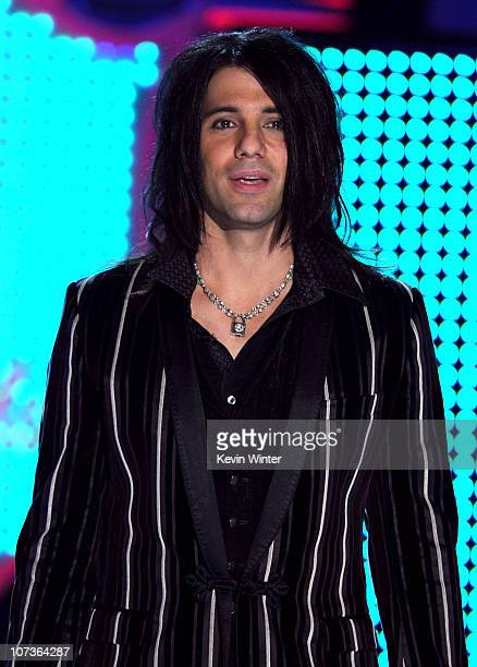 Illusionist Criss Angel performs onstage during the American Country Awards 2010 held at the MGM Grand Garden Arena on December 6 2010 in Las Vegas...