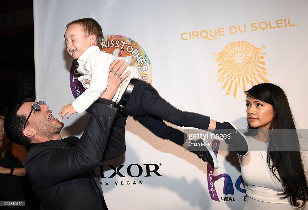 Criss Angel's HELP Charity Event Benefiting Pediatric Cancer Research And Treatment : News Photo