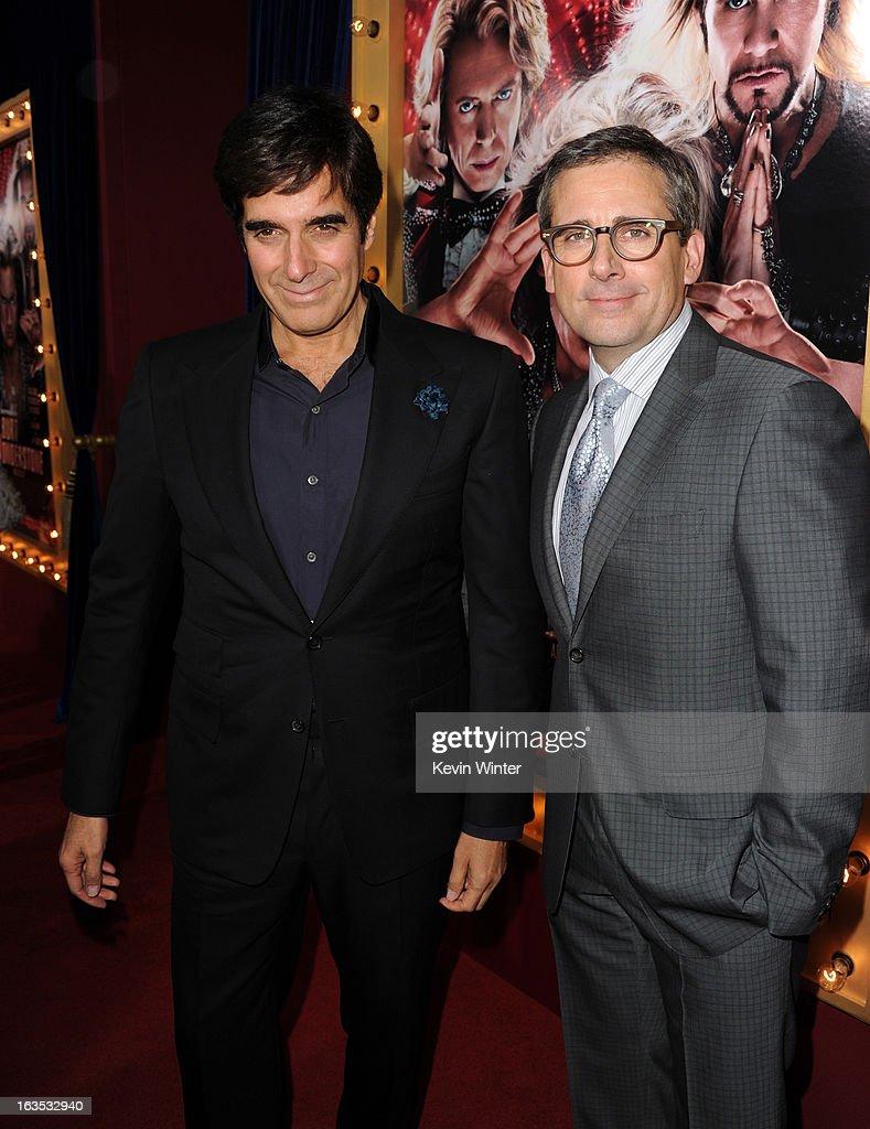 "Premiere Of Warner Bros. Pictures' ""The Incredible Burt Wonderstone"" - Red Carpet : News Photo"