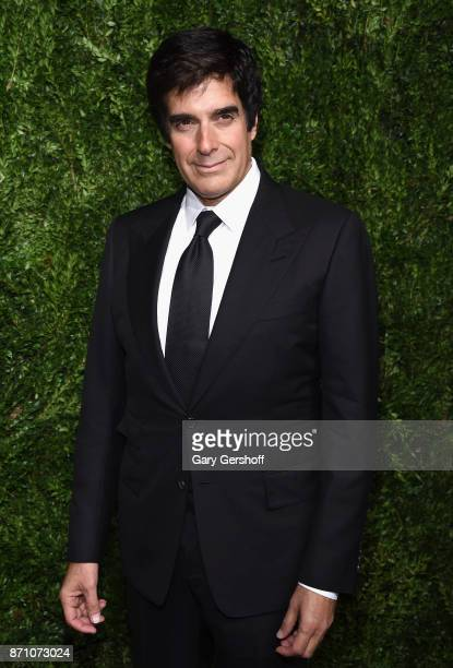 Illusionist David Copperfield attends the 14th Annual CFDA/Vogue Fashion Fund Awards at Weylin B Seymour's on November 6 2017 in the Brooklyn borough...