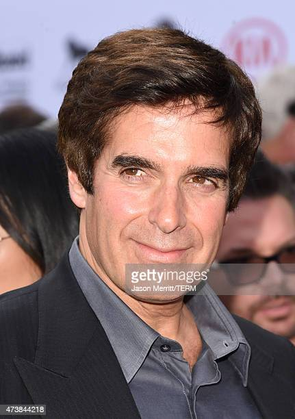 Illusionist David Copperfield attends the 2015 Billboard Music Awards at MGM Grand Garden Arena on May 17 2015 in Las Vegas Nevada