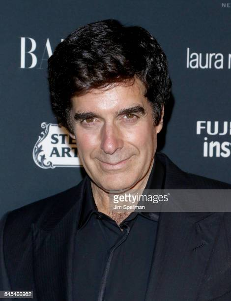 Illusionist David Copperfield attends the 2017 Harper's Bazaar Icons at The Plaza Hotel on September 8 2017 in New York City