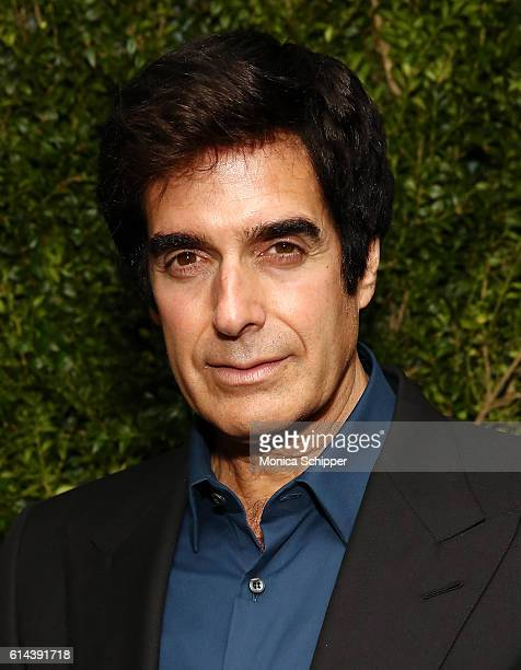 Illusionist David Copperfield attends the Franca Chaos And Creation New York Screening at Metrograph on October 13 2016 in New York City