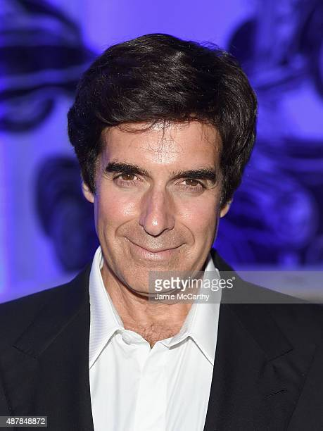 Illusionist David Copperfield attends the Givenchy SS16 after party on September 11 2015 in New York City