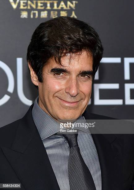 Illusionist David Copperfield attends the Now You See Me 2 World Premiere at AMC Loews Lincoln Square 13 theater on June 6 2016 in New York City