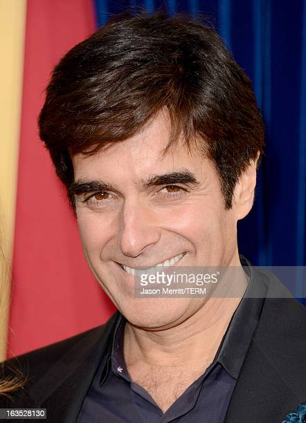 Illusionist David Copperfield attends the premiere of Warner Bros Pictures' The Incredible Burt Wonderstone at TCL Chinese Theatre on March 11 2013...