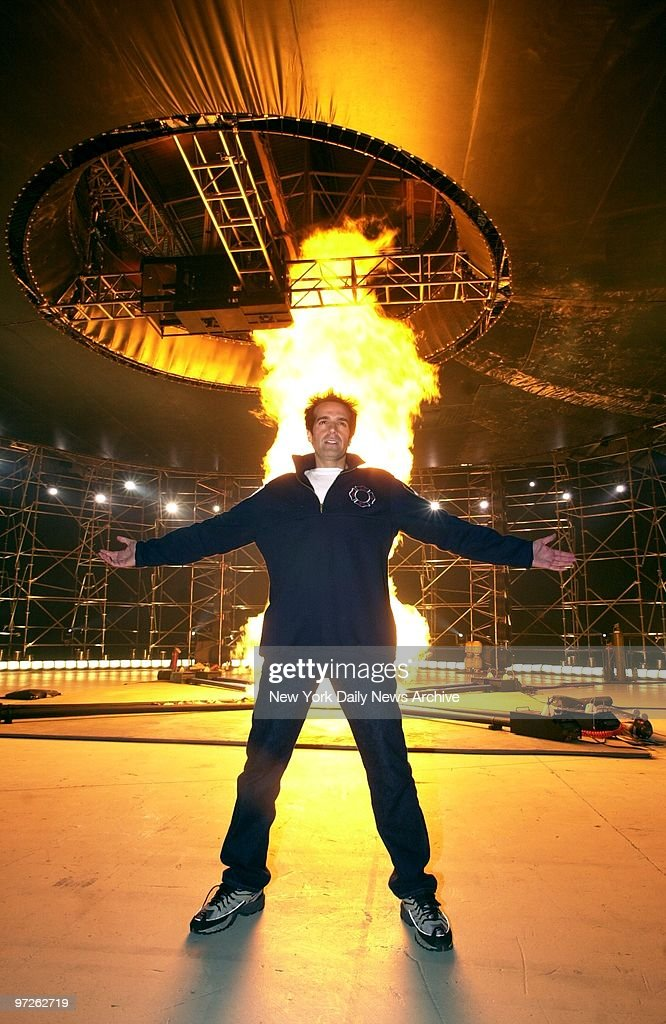 Illusionist David Copperfield promotes his upcoming TV speci : News Photo