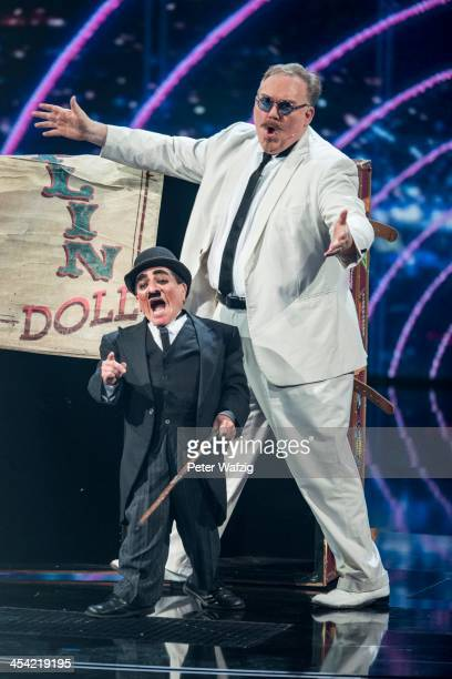 Illusionist Kevin James performs during the second Semifinal of 'Das Supertalent' TV Show on December 07 2013 in Cologne Germany