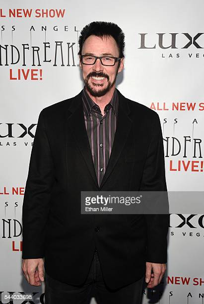 Illusionist Lance Burton attends the world premiere of Criss Angel Mindfreak Live at the Luxor Hotel and Casino on June 30 2016 in Las Vegas Nevada