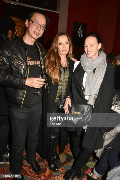 Illusionist/photographer Patrick Le Hec'h Valerie Durand and model Magdalena Raoul