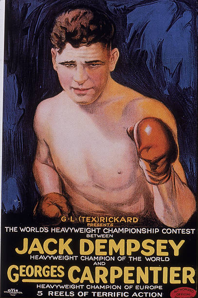 Jack Dempsey Boxing Poster