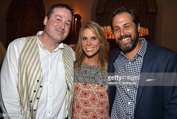 Illustrater Ed Hemingway actress Cheryl Hines and author Mark Bailey attend the publication celebration of Mark Bailey and Ed Hemingway's 'Of All The...