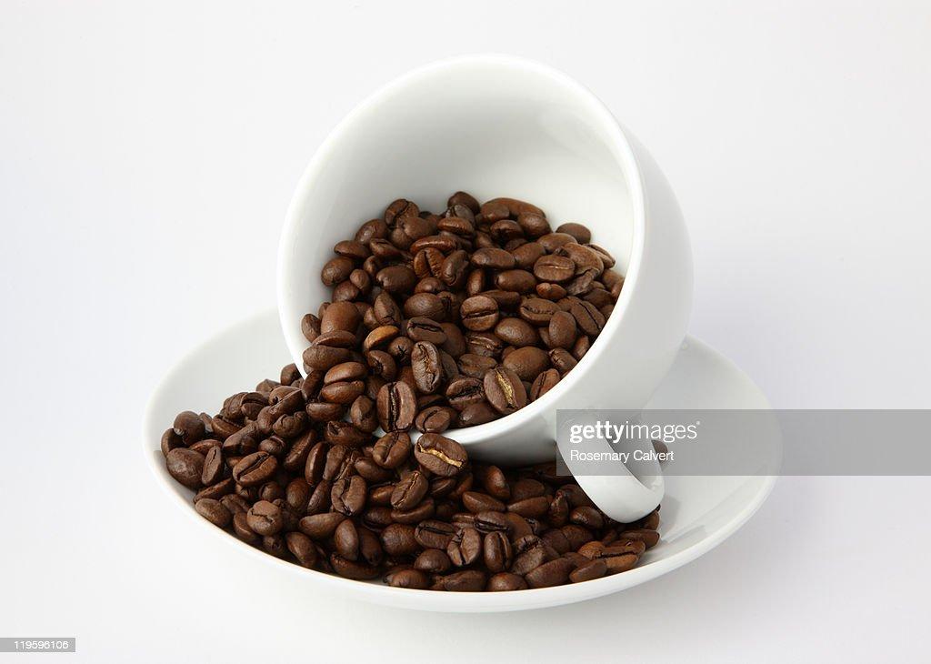 Illustrating the aroma and plenty of coffee. : Stockfoto