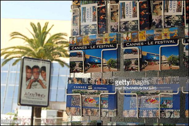 Illustration 55th Cannes film festival In Cannes France On May 14 2002