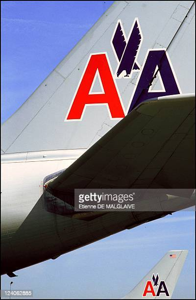 Illustration Airbus A300 American Airlines In New York United States On September 29 1993 Airbus A 300600