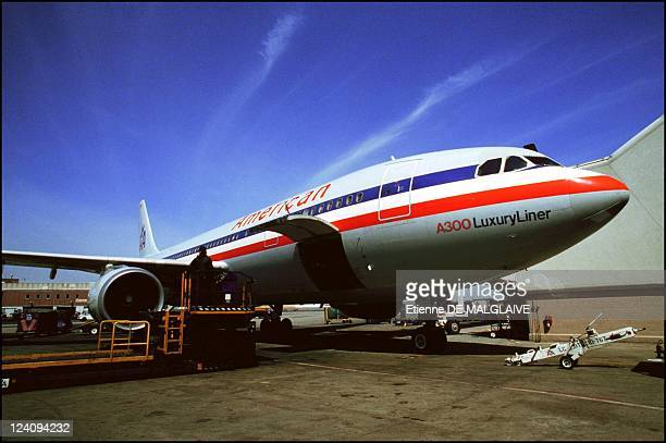 Illustration Airbus A300 American Airlines In New York United States On September 29 1993 Airbus A 300600 at New York City JFK Airport