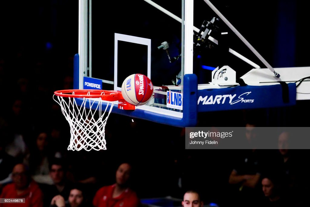 Illustration Ball during the Final Leaders Cup match between Le Mans and Monaco at Disneyland Resort Paris on February 18, 2018 in Paris, France.