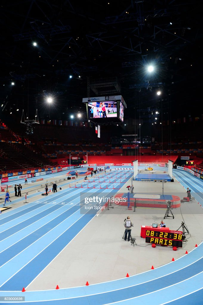 Illustration Bercy Championnats D Europe En Salle Bercy Paris