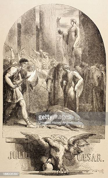Illustration By Sir John Gilbert For Julius Caesar By William Shakespeare From The Illustrated Library Shakspeare Published London 1890