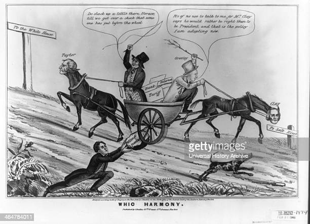 Illustration called Whig Harmony 1848