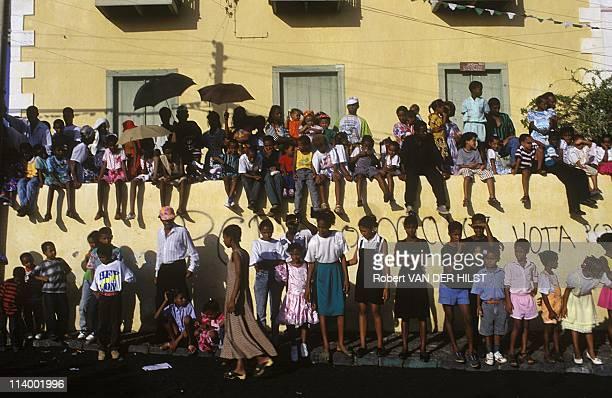Illustration Cape Verde Islands In Cape Verde In April 2003Fogo