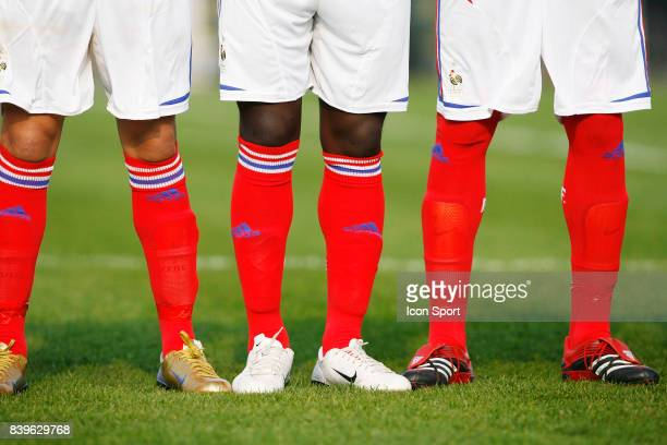 Illustration chaussures 030407 France / Cameroun Mondial Minimes Montaigu
