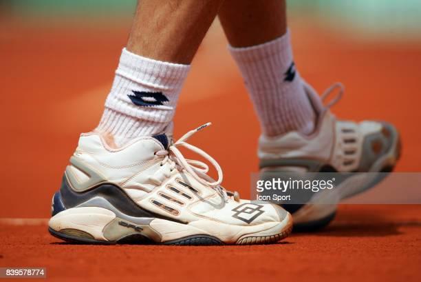 Illustration chaussures Roland Garros 2005