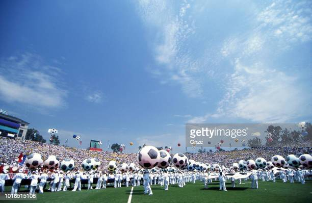 Illustration Closing Ceremony during the 1994 FIFA World Cup final match between Brazil and Italy at Rose Bowl on July 17 1994 in Los Angeles...