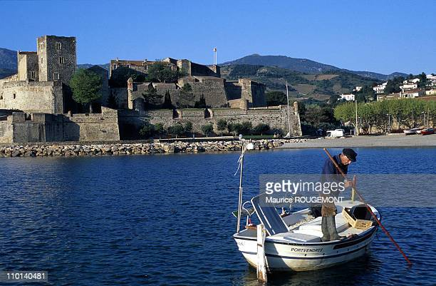 Illustration Collioure France in 1997