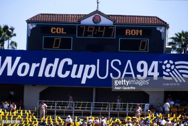 Illustration Coupe du Monde 1994 Roumanie / Colombie Coupe du Monde 1994 Photo Alain Gadoffre / Icon Sport