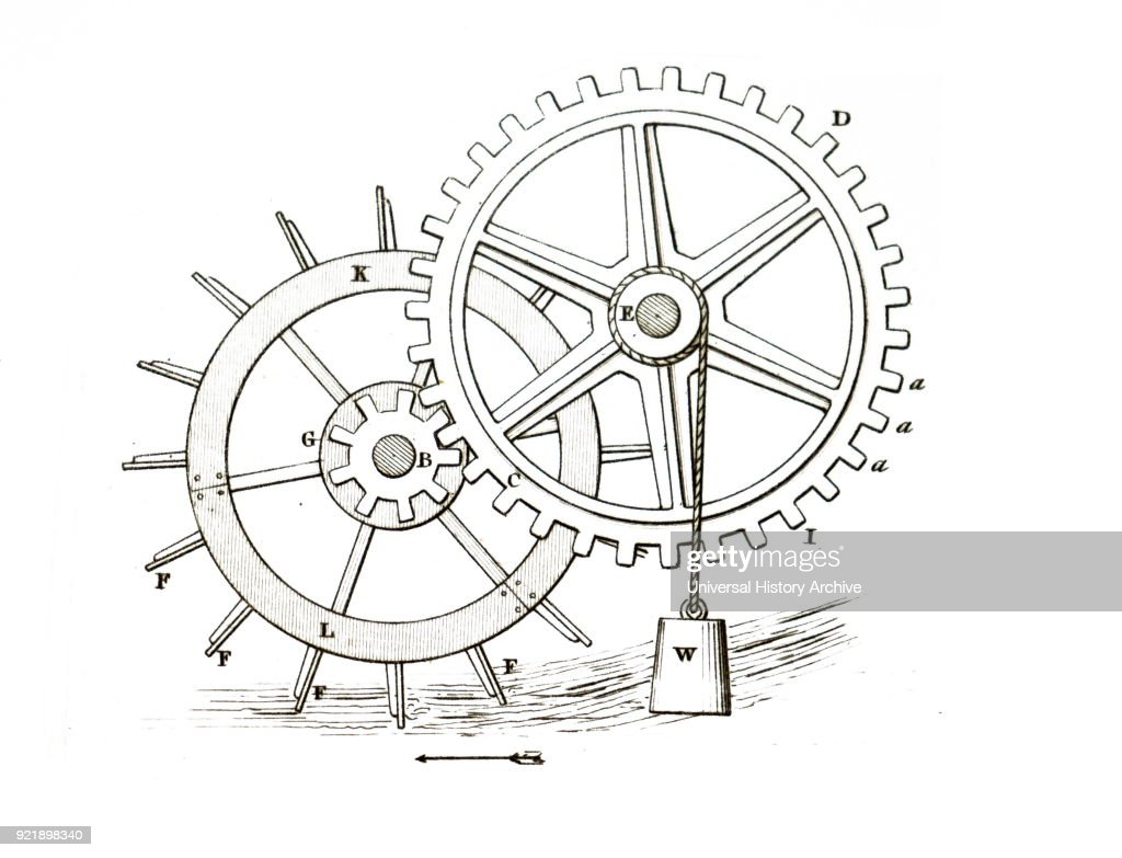A lindershot water wheel. : News Photo