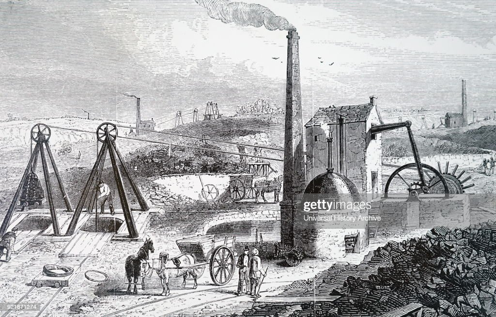 A steam engine. : News Photo