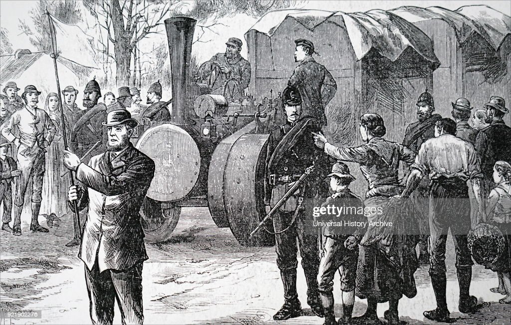 Illustration depicting boycotted goods being given an armed guard to Thurles railway station. In 1880 Charles Stewart Parnell began a campaign of social ostracism and Charles Boycott was one of the first victims, and so a new word came into English and into various European languages. Charles Stewart Parnell (1846-1891) an Irish nationalist politician and powerful member of the British House of Commons. Charles Cunningham Boycott (1832-1897) an English land agent. Dated 19th century.
