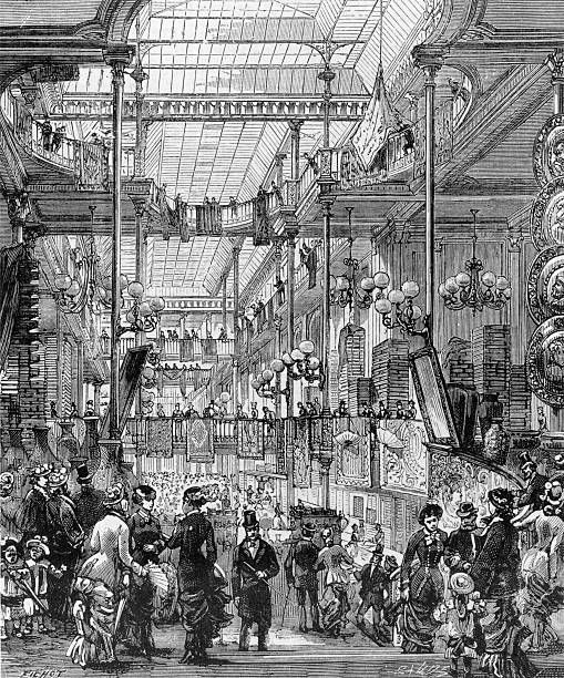 Illustration depicting Le Bon Marché ('the good market',...