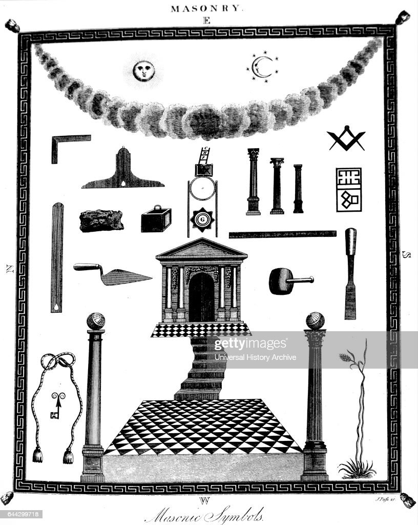 Masonic Symbolism Pictures Getty Images