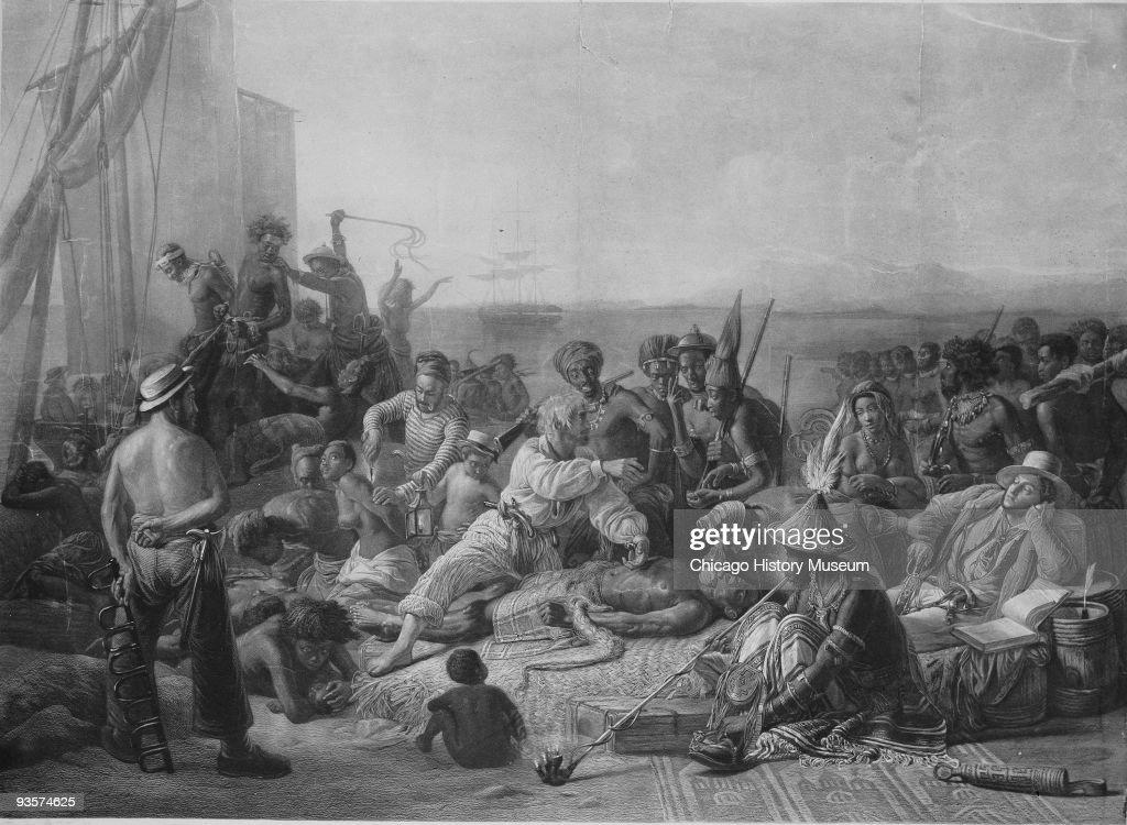Slave Trade : News Photo