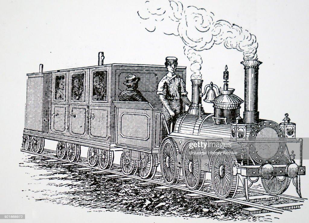 The engine 'Little Wonder'. : News Photo