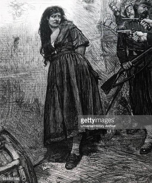 Illustration depicting the execution of a Petrol use Petrol use were female supporters of the Paris Commune accused of burning down much of Paris...